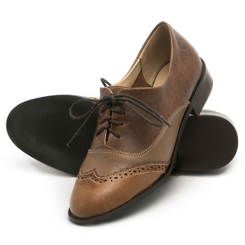 Laranja_Lima_Shoes_Sapatos_Femininos_Oxford_Laranja_Lima_Shoes_Salto_de_2_cm_em_Couro_Cafe_-_Codigo_-_9468_2