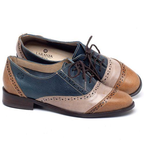 Laranja_Lima_Shoes_Sapatos_Femininos_Oxford_Laranja_Lima_Shoes_Salto_de_2_cm_em_Couro_Multicolor_-_Codigo_-_9469_1