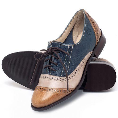 Laranja_Lima_Shoes_Sapatos_Femininos_Oxford_Laranja_Lima_Shoes_Salto_de_2_cm_em_Couro_Multicolor_-_Codigo_-_9469_2