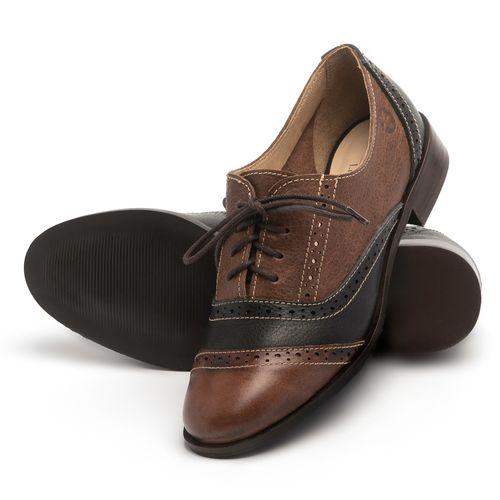 Laranja_Lima_Shoes_Sapatos_Femininos_Oxford_Laranja_Lima_Shoes_Salto_de_2_cm_em_Couro_Marrom_-_Codigo_-_9469_2