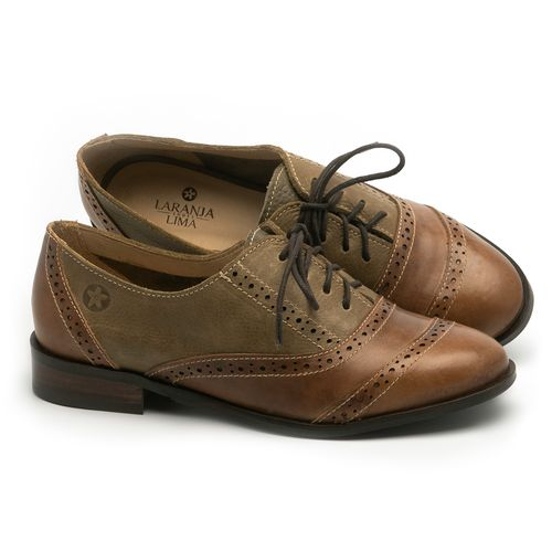 Laranja_Lima_Shoes_Sapatos_Femininos_Oxford_Laranja_Lima_Shoes_Salto_de_2_cm_em_Couro_Marrom_-_Codigo_-_9469_1