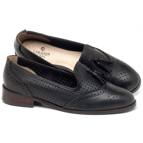 Laranja_Lima_Shoes_Sapatos_Femininos_Oxford_Laranja_Lima_Shoes_Salto_de_3_cm_em_Couro_Preto_-_Codigo_-_9470_1
