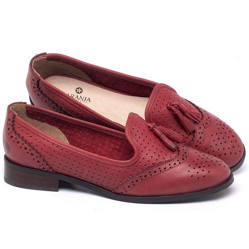 Laranja_Lima_Shoes_Sapatos_Femininos_Oxford_Laranja_Lima_Shoes_Salto_de_3_cm_em_Couro_Vermelho_-_Codigo_-_9470_1