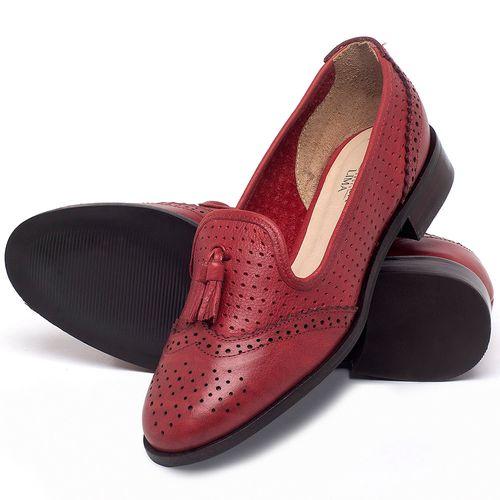 Laranja_Lima_Shoes_Sapatos_Femininos_Oxford_Laranja_Lima_Shoes_Salto_de_3_cm_em_Couro_Vermelho_-_Codigo_-_9470_2