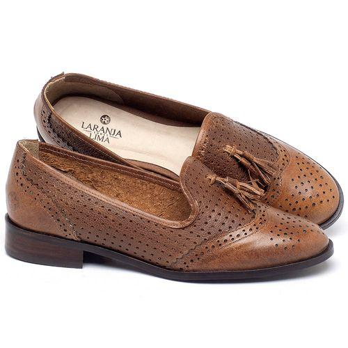 Laranja_Lima_Shoes_Sapatos_Femininos_Oxford_Laranja_Lima_Shoes_Salto_de_3_cm_em_Couro_Caramelo_-_Codigo_-_9470_1