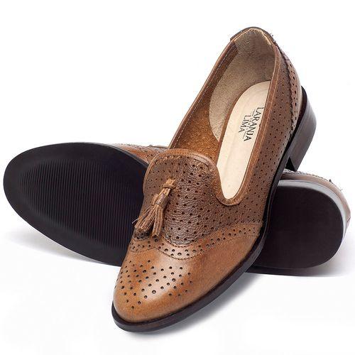 Laranja_Lima_Shoes_Sapatos_Femininos_Oxford_Laranja_Lima_Shoes_Salto_de_3_cm_em_Couro_Caramelo_-_Codigo_-_9470_2