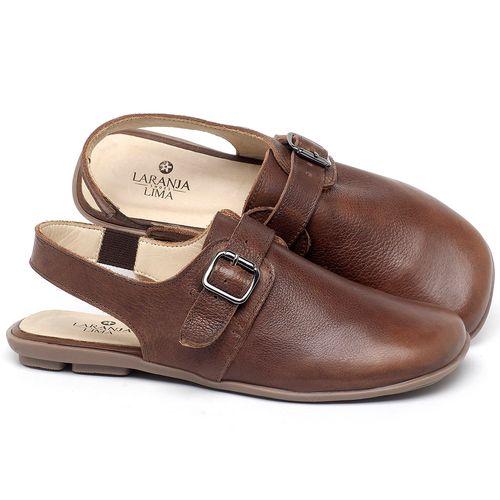 Laranja_Lima_Shoes_Sapatos_Femininos_Sapatilha_Alternativa_em_Couro_Marrom_-_Codigo_-_9472_1