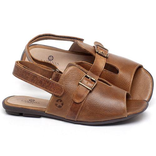 Laranja_Lima_Shoes_Sapatos_Femininos_Sandalia_Rasteira_Flat_em_Couro_Caramelo_-_Codigo_-_9477_1