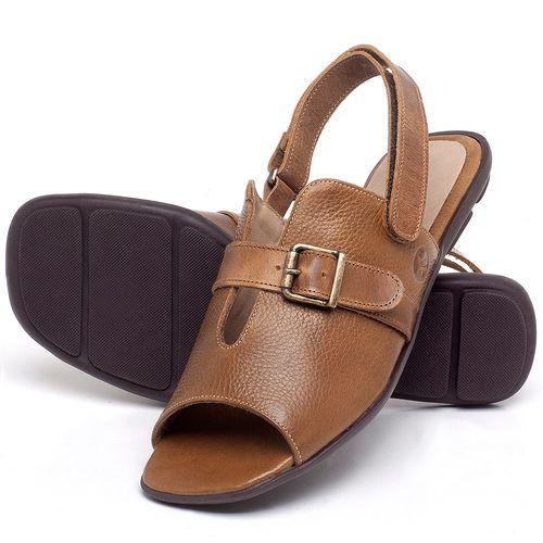 Laranja_Lima_Shoes_Sapatos_Femininos_Sandalia_Rasteira_Flat_em_Couro_Caramelo_-_Codigo_-_9477_2