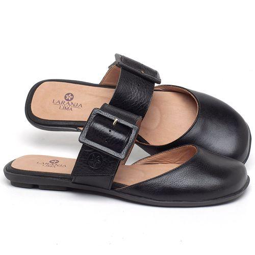 Laranja_Lima_Shoes_Sapatos_Femininos_Sapatilha_Alternativa_em_Couro_Preto_-_Codigo_-_9479_1