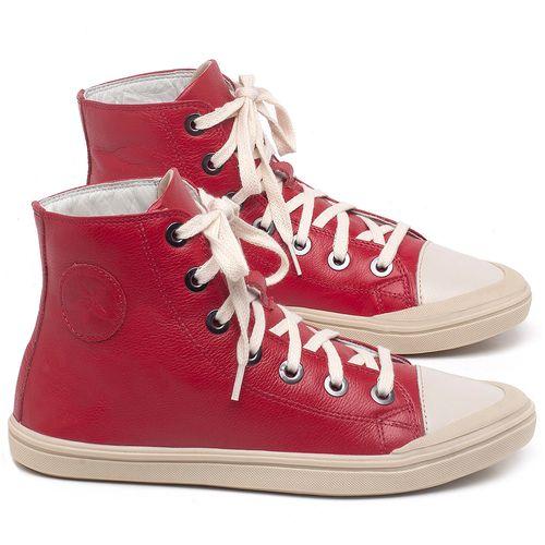 Laranja_Lima_Shoes_Sapatos_Femininos_Tenis_Cano_Alto_em_Couro_Vermelho_-_Codigo_-_56196_1