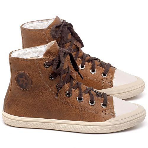 Laranja_Lima_Shoes_Sapatos_Femininos_Tenis_Cano_Alto_em_Couro_Caramelo_-_Codigo_-_56196_1