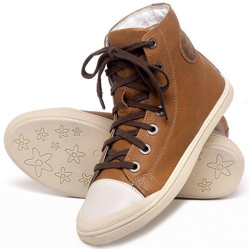 Laranja_Lima_Shoes_Sapatos_Femininos_Tenis_Cano_Alto_em_Couro_Caramelo_-_Codigo_-_56196_2