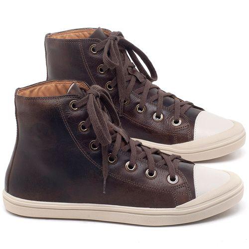 Laranja_Lima_Shoes_Sapatos_Femininos_Tenis_Cano_Alto_em_Couro_Marrom_-_Codigo_-_56196_1