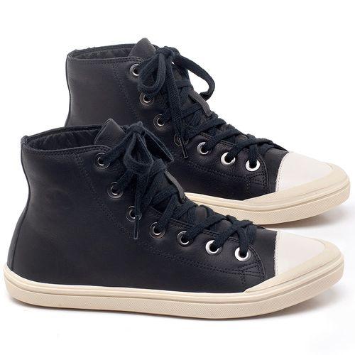 Laranja_Lima_Shoes_Sapatos_Femininos_Tenis_Cano_Alto_em_Couro_Preto_-_Codigo_-_56196_1