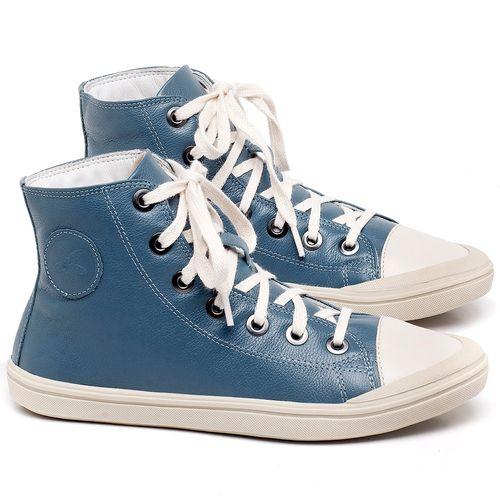 Laranja_Lima_Shoes_Sapatos_Femininos_Tenis_Cano_Alto_em_Couro_Azul_-_Codigo_-_56196_1
