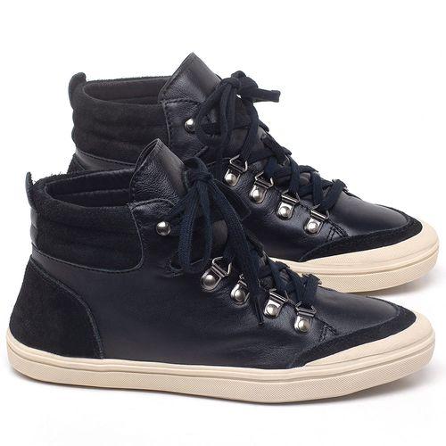 Laranja_Lima_Shoes_Sapatos_Femininos_Tenis_Cano_Alto_em_Couro_Preto_-_Codigo_-_56204_1