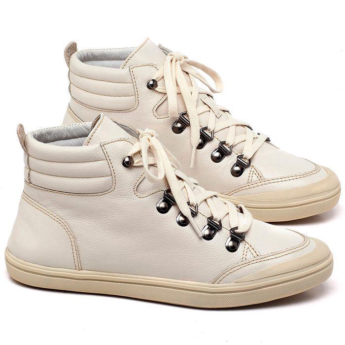 Laranja_Lima_Shoes_Sapatos_Femininos_Tenis_Cano_Alto_em_Couro_Off-White_-_Codigo_-_56204_1