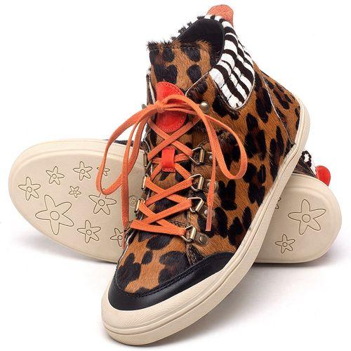 Laranja_Lima_Shoes_Sapatos_Femininos_Tenis_Cano_Alto_em_Couro_Onca_-_Codigo_-_56205_2