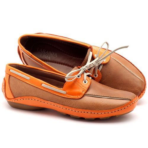 Laranja_Lima_Shoes_Sapatos_Femininos_Dockside_Laranja_Lima_Shoes_em_Couro_Caramelo_-_Codigo_-_136005_1