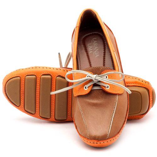 Laranja_Lima_Shoes_Sapatos_Femininos_Dockside_Laranja_Lima_Shoes_em_Couro_Caramelo_-_Codigo_-_136005_2