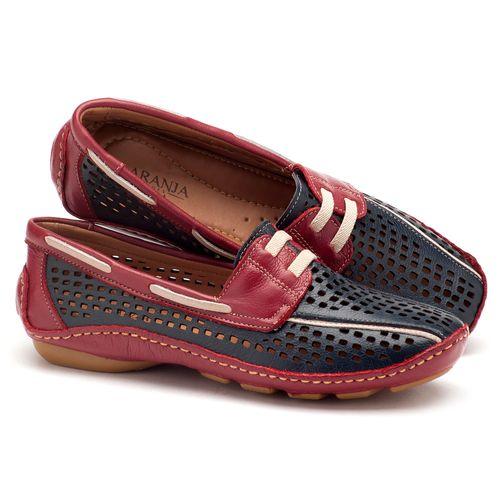 Laranja_Lima_Shoes_Sapatos_Femininos_Dockside_Laranja_Lima_Shoes_em_Couro_Azul_-_Codigo_-_136009_1