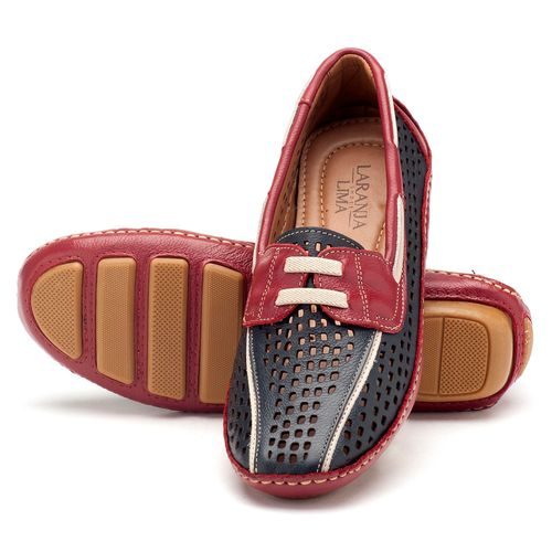 Laranja_Lima_Shoes_Sapatos_Femininos_Dockside_Laranja_Lima_Shoes_em_Couro_Azul_-_Codigo_-_136009_2