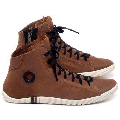 Laranja_Lima_Shoes_Sapatos_Femininos_Tenis_Cano_Alto_em_Couro_Caramelo_-_Codigo_-_136067_1