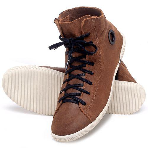 Laranja_Lima_Shoes_Sapatos_Femininos_Tenis_Cano_Alto_em_Couro_Caramelo_-_Codigo_-_136067_2