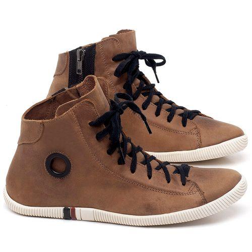 Laranja_Lima_Shoes_Sapatos_Femininos_Tenis_Cano_Alto_em_Couro_Marrom_-_Codigo_-_136067_1