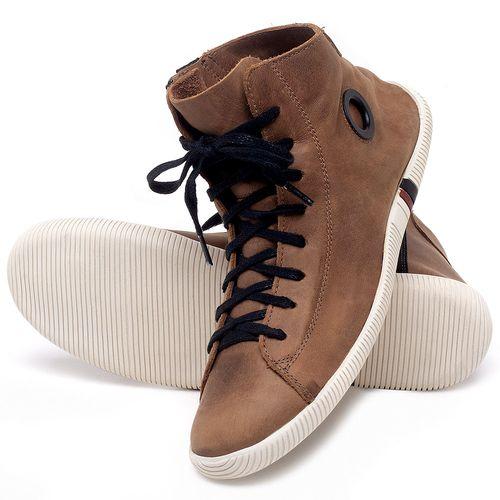 Laranja_Lima_Shoes_Sapatos_Femininos_Tenis_Cano_Alto_em_Couro_Marrom_-_Codigo_-_136067_2