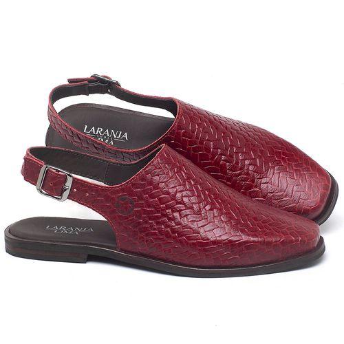 Laranja_Lima_Shoes_Sapatos_Femininos_Sapatilha_Bico_Quadrado_em_Couro_Vermelho_-_Codigo_-_136085_1