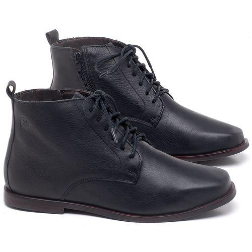Laranja_Lima_Shoes_Sapatos_Femininos_Bota_Cano_Curto_em_Couro_Preto_-_Codigo_-_136088_1