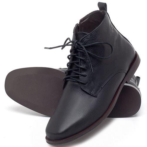 Laranja_Lima_Shoes_Sapatos_Femininos_Bota_Cano_Curto_em_Couro_Preto_-_Codigo_-_136088_2