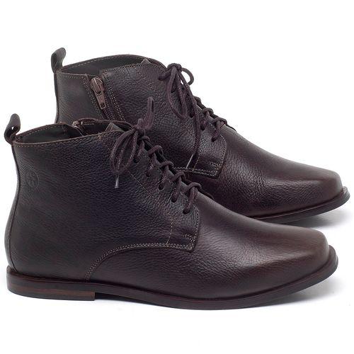 Laranja_Lima_Shoes_Sapatos_Femininos_Bota_Cano_Curto_em_Couro_Cafe_-_Codigo_-_136088_1