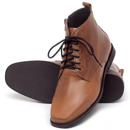 Laranja_Lima_Shoes_Sapatos_Femininos_Bota_Cano_Curto_em_Couro_Caramelo_-_Codigo_-_136088_2