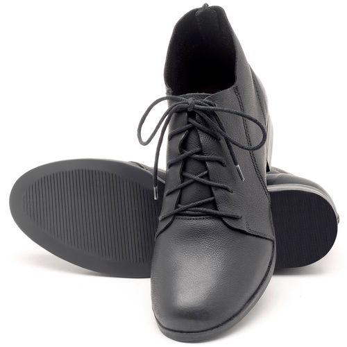 Laranja_Lima_Shoes_Sapatos_Femininos_Bota_Cano_Curto_em_Couro_Preto_-_Codigo_-_137109_2