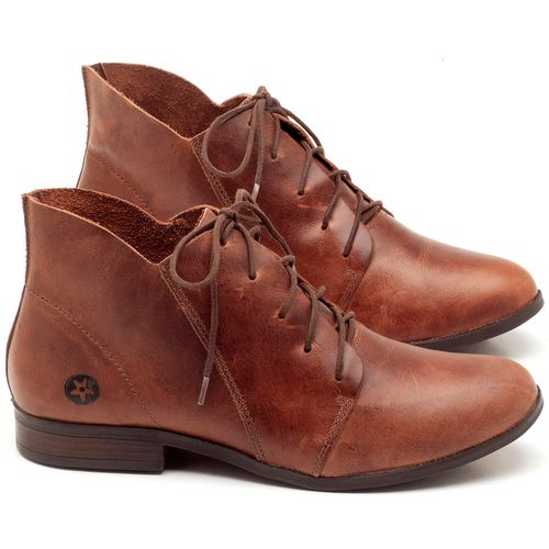 Laranja_Lima_Shoes_Sapatos_Femininos_Bota_Cano_Curto_em_Couro_Marrom_-_Codigo_-_137109_1