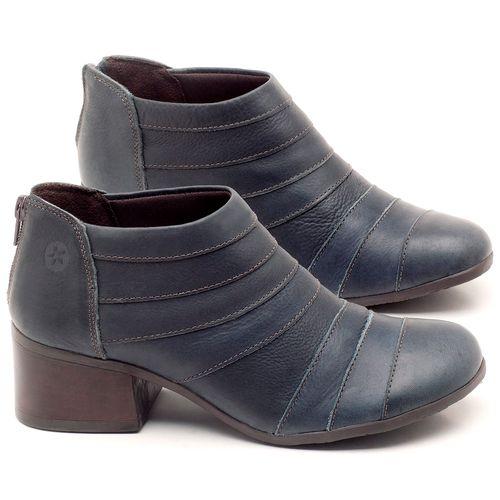 Laranja_Lima_Shoes_Sapatos_Femininos_Bota_Cano_Curto_Salto_de_5_cm_em_Couro_Azul_-_Codigo_-_137162_1