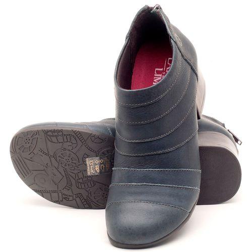Laranja_Lima_Shoes_Sapatos_Femininos_Bota_Cano_Curto_Salto_de_5_cm_em_Couro_Azul_-_Codigo_-_137162_2