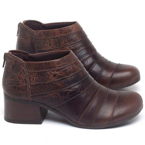 Laranja_Lima_Shoes_Sapatos_Femininos_Bota_Cano_Curto_Salto_de_5_cm_em_Couro_Marrom_-_Codigo_-_137162_1