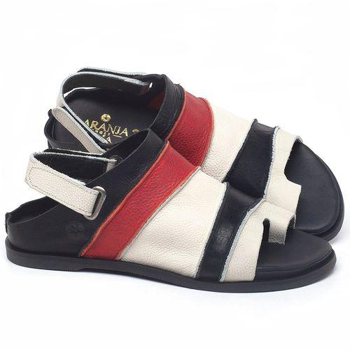 Laranja_Lima_Shoes_Sapatos_Femininos_Sandalia_Rasteira_Flat_em_Couro_Colorido_-_Codigo_-_137185_1