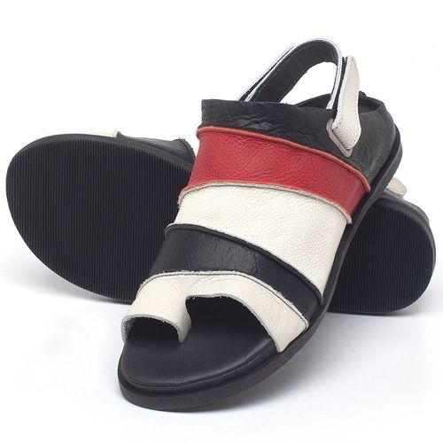 Laranja_Lima_Shoes_Sapatos_Femininos_Sandalia_Rasteira_Flat_em_Couro_Colorido_-_Codigo_-_137185_2
