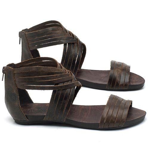 Laranja_Lima_Shoes_Sapatos_Femininos_Sandalia_Rasteira_Flat_em_Couro_Verde_-_Codigo_-_137189_1