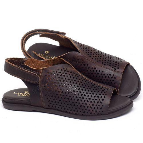 Laranja_Lima_Shoes_Sapatos_Femininos_Sandalia_Rasteira_Flat_em_Couro_Marrom_-_Codigo_-_137286_1