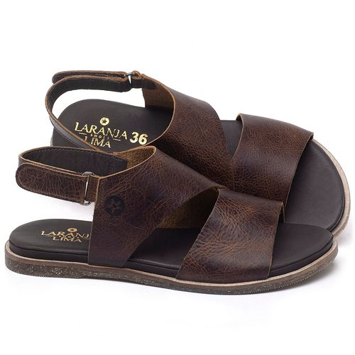 Laranja_Lima_Shoes_Sapatos_Femininos_Sandalia_Rasteira_Flat_em_Couro_Marrom_-_Codigo_-_137292_1