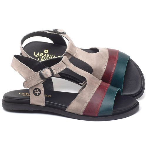 Laranja_Lima_Shoes_Sapatos_Femininos_Sandalia_Rasteira_Flat_em_Couro_Colorido_-_Codigo_-_137293_1