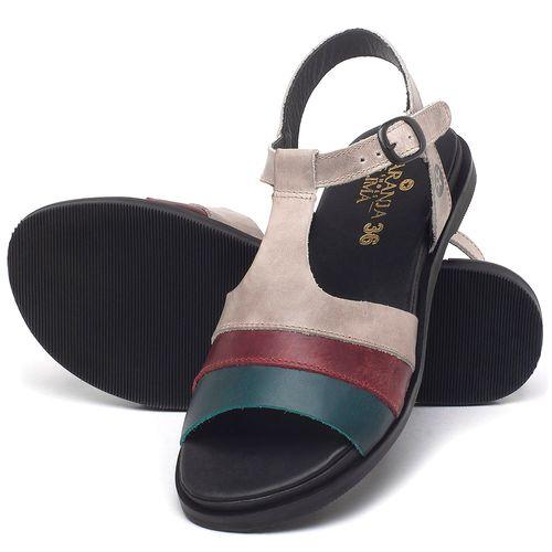 Laranja_Lima_Shoes_Sapatos_Femininos_Sandalia_Rasteira_Flat_em_Couro_Colorido_-_Codigo_-_137293_2