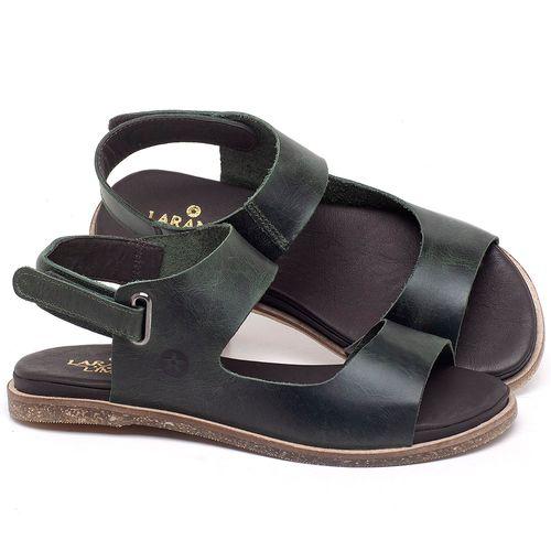 Laranja_Lima_Shoes_Sapatos_Femininos_Sandalia_Rasteira_Flat_em_Couro_Verde_-_Codigo_-_137295_1