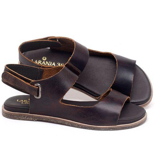 Laranja_Lima_Shoes_Sapatos_Femininos_Sandalia_Rasteira_Flat_em_Couro_Marrom_-_Codigo_-_137295_1